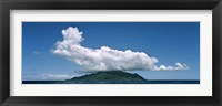 Framed Clouds over Silhouette Island, Seychelles