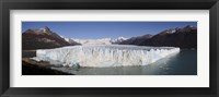 Framed Glaciers with mountain range in the background, Moreno Glacier, Argentine Glaciers National Park, Patagonia, Argentina