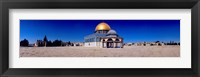 Framed Dome of The Rock, Temple Mount, Jerusalem, Israel