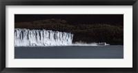 Framed Glaciers in a lake, Moreno Glacier, Argentino Lake, Argentine Glaciers National Park, Santa Cruz Province, Patagonia, Argentina