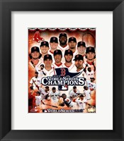 Framed Boston Red Sox 2013 World Series Champions Composite