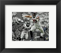 Framed J.J. Watt 2013 Spotlight Action