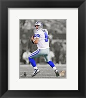 Framed Tony Romo 2013 Spotlight Action