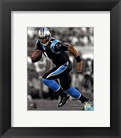 Framed Cam Newton 2013 Spotlight Action