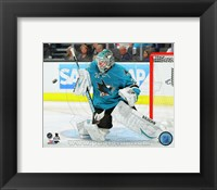 Framed Antti Niemi 2013-14 Action