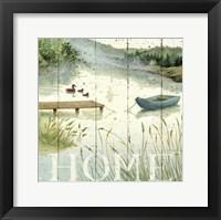 Framed Lakeside I