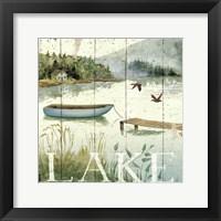 Lakeside II Framed Print
