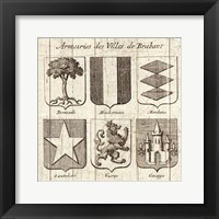 Framed Restoration Period French Armory I