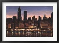 Framed Manhattan Reflection