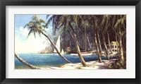 Framed Bali Cove