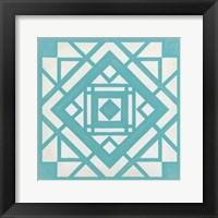 Modern Quilt II Framed Print