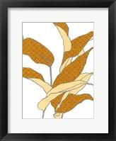Modern Foliage II Framed Print