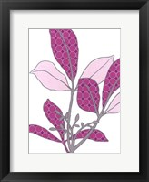Modern Foliage III Framed Print