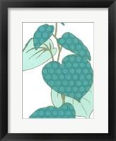 Modern Foliage IV Framed Print