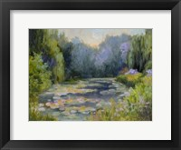 Framed Monet's Garden I
