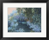 Framed Monet's Garden VII
