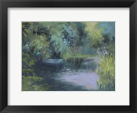 Framed Monet's Garden VIII