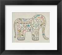 Laurel's Elephant I Framed Print