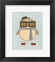 Framed Hipster Owl II