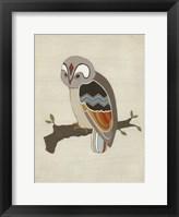 Chevron Owl II Framed Print