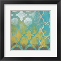 Neo Lattice II Framed Print