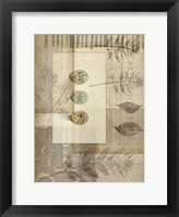 Small Notebook Collage IV Framed Print