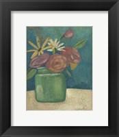Flower Market II Framed Print