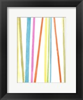 Cabana Stripes I Framed Print