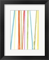 Framed Cabana Stripes II