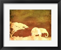 Framed Safari Sunrise I