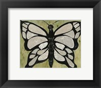 Framed Butterfly Text