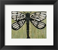 Framed Dragonfly Text