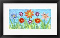 Framed Flower Play I