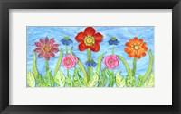 Framed Flower Play II
