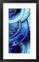 Blue Moons I Framed Print