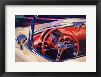 Framed '58 Corvette
