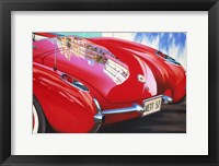 Framed '57 Corvette