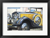 Framed '34 Rolls Royce