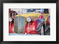 Framed '38 Packard Phaeton Body