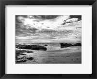 Framed B&W Beachscape