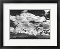 Framed Pyramids, Mountains & Clouds