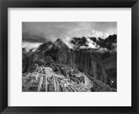 Framed Machu Picchu