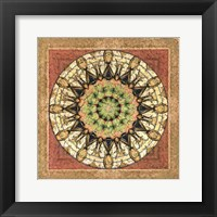 Framed Floress Mandala II