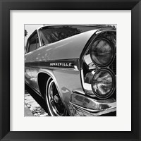 Framed '63 Bonneville