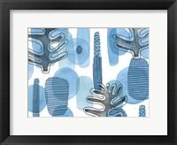 Mod Leaves I Framed Print