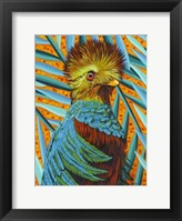 Framed Bird in the Tropics I
