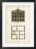 Framed Design for a Building III