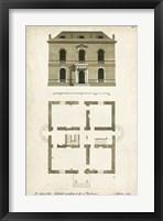 Framed Design for a Building IV