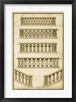 Vintage Gate Design I Framed Print