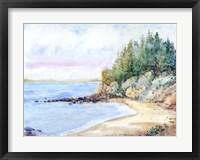 Shore Line II Framed Print